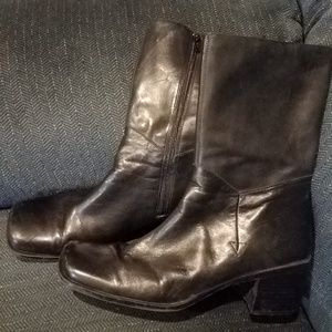 Croft and Barrow Black Boots